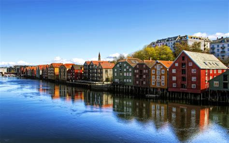Trondheim - Town in Norway - Sightseeing and Landmarks