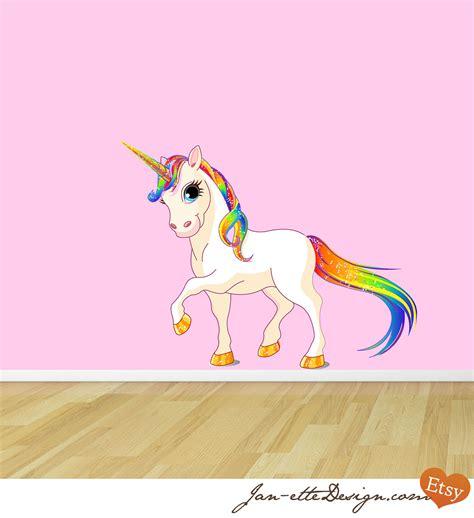 removable wall murals australia princess rainbow unicorn reusable fabric wall decal