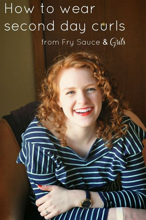 how to style second day curly hair tips on how to wear second day curls curl hair styles 4701