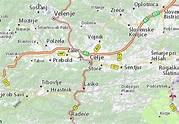 Map of Celje - Michelin Celje map - ViaMichelin