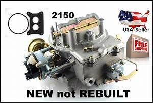 New Carburetor 2bbl Ford 2150 W  Climate Choke Fits Many V8