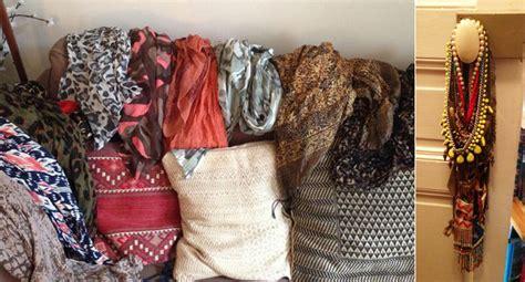 comment ranger les foulards comment ranger les foulards et les colliers mon de fillemon de fille