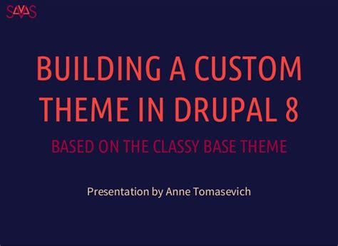 Building A Custom Theme In Drupal 8