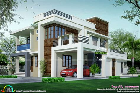 house design contemporary model kerala home design