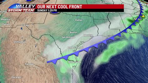 Sunday cold front to bring cooler temperatures and showers ...