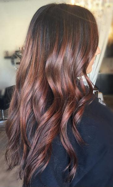 Hair Colour Styles For Brunettes by With Hints Of Cherry Mane Interest