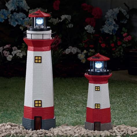 Solar LED Garden Lighthouses   Daily Express