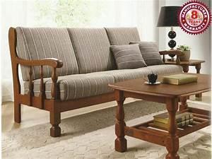 Design Couch Online : sofa wooden wooden sofa set winster 3 1 seater online ~ Pilothousefishingboats.com Haus und Dekorationen