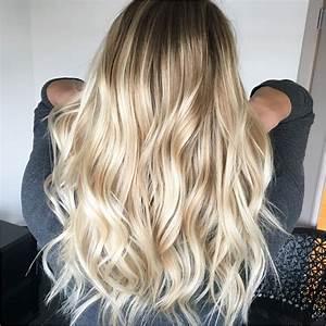 Blonde Haare Ombre Blonde Haare In Ombre Farben Stilvolle Frisuren