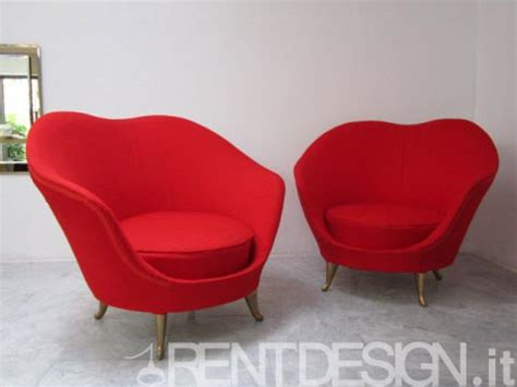 Poltrone Rosse by Rentdesign Poltrone