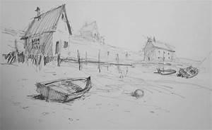 Sketches  Pencil  U0026 Ink
