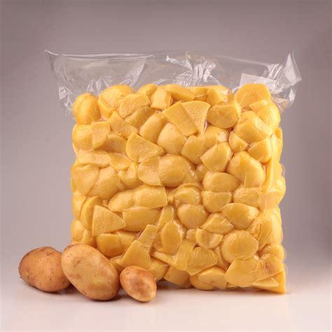 Peeled Vacuumpacked Potatoes Fritpom