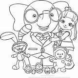Ruby Rainbow Drawing Coloring Pages Friends Village Getdrawings sketch template