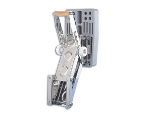 trem chaise moteur inox r 233 glable pour moteur hors bord