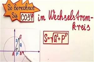 Scheinleistung Berechnen : video cos phi berechnen so geht 39 s ~ Themetempest.com Abrechnung
