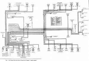 Standard Body And Power Wiring Circuit Diagram Of 1966