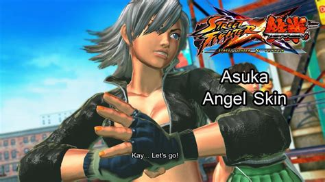 Asuka As Angel From King Of Fighters Street Fighter X
