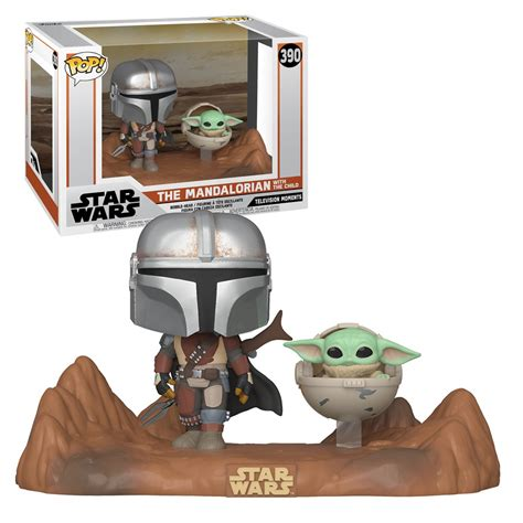 FUNKO POP! MOMENT: Star Wars - Mandalorian & Child – Gamer ...