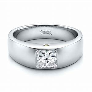 custom diamond and peridot men39s wedding band 100267 With custom mens wedding ring