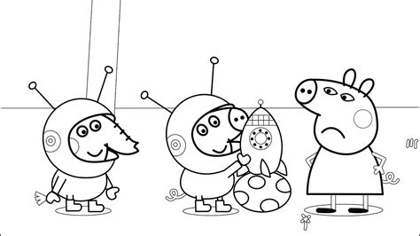 peppa pig  marker challenge coloring pages print coloring