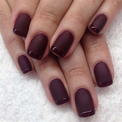 matte color nails best 25 matte nail designs ideas on one color
