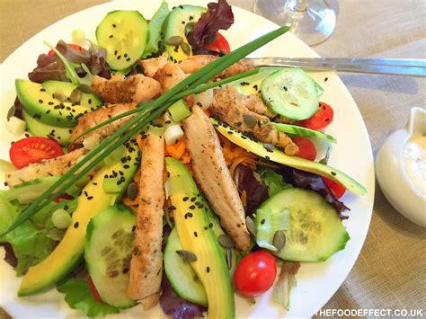 deluxe cuisine the food effect the food effect chicken salad deluxe