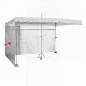 Rideau Hauteur 220 : rideau de parasol parasol transparent 220 x 180 cm accessoires pour parasol forain ~ Teatrodelosmanantiales.com Idées de Décoration