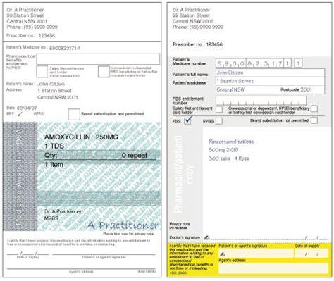 prescriptions cf parents info hub