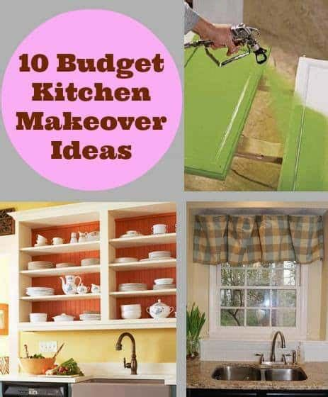 Diy Decorating Ideas For Kitchen by 10 Budget Kitchen Makeover Ideas