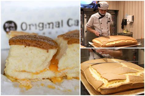 original cake famous jiggly castella cake shop
