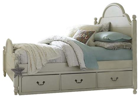 legacy classic kids twin  poster bed  underbed