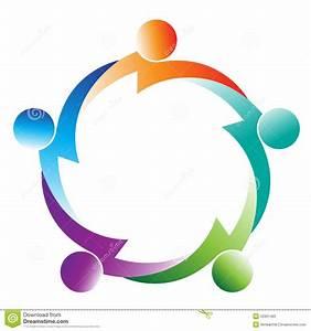 Teamwork logo stock vector. Image of artistry, designing ...