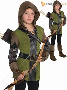 Childs Robin Hood Costume Boys Prince of Thieves Fancy ...