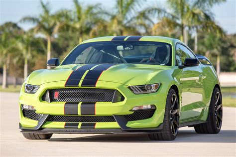 We'll be over here—building it. 2020 Ford Mustang Shelby GT350R