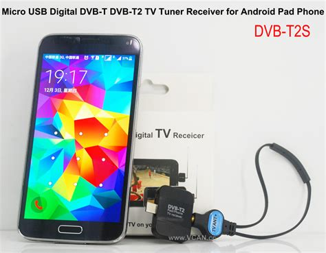micro usb digital dvb t dvb t2 tv tuner receiver for android pad