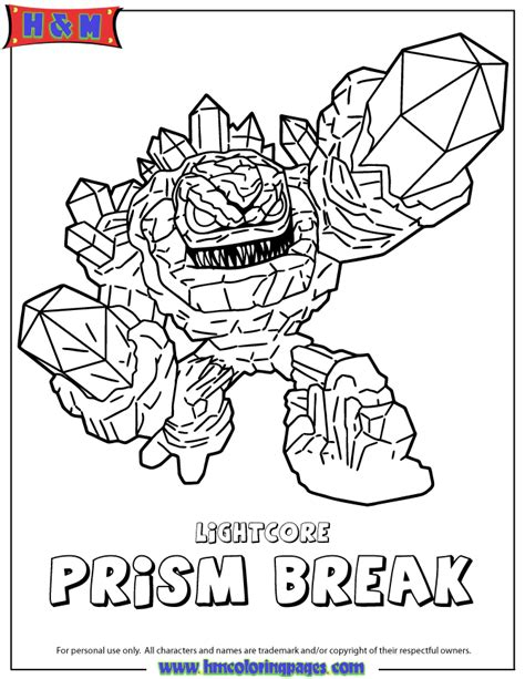 Skylander Hotdog - Free Colouring Pages