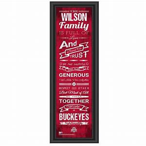 83 best images about ohio state buckeyes stuff on With ohio state letter art