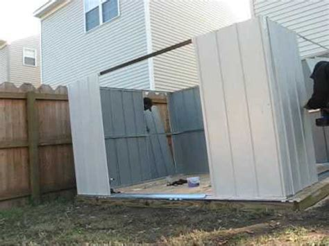 does lowes install sheds time lapse assembly of a lowes arrow shed assembled by