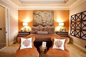 Warme Farben Fürs Schlafzimmer : wandfarben im schlafzimmer 105 ideen f r erholsame n chte ~ Markanthonyermac.com Haus und Dekorationen