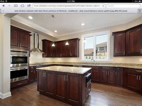 kitchen floors with cherry cabinets hickory floors cherry cabinets home ideas in 2018 8095