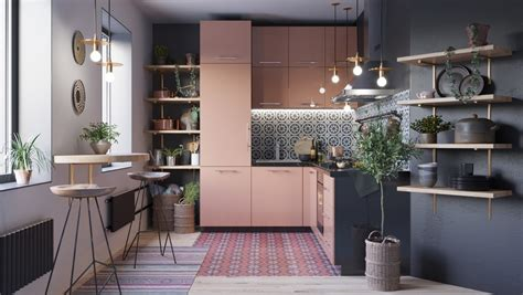 lovely  shaped kitchen designs tips