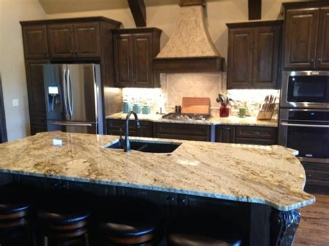 beige granite cabinets backsplash ideas
