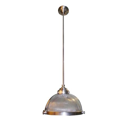 shop allen roth 13 12 in w satin nickel mini pendant