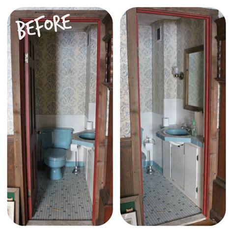 small bathroom storage ideas narrow half bathroom reveal 1910 home renovation