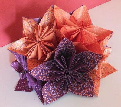 blume gefaltet aus papier origami blume basteln