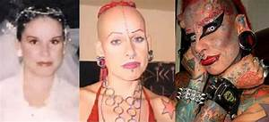 The Vampire Lady of Mexico Maria Jose before and after photos