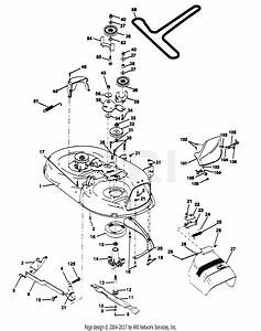 Poulan Pp15h42k Tractor Parts Diagram For Mower Deck