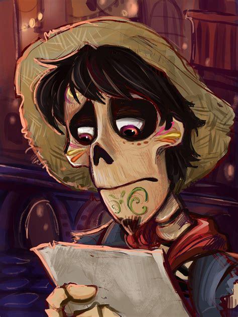 Spoilers, so if you haven't seen coco keep scrolling! Hector in coco movie 2017   Disney pixar movies, Disney fan art, Disney animation