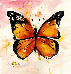 Monarch Butterfly ... No. 2 ... Original by Kathy Morton ...