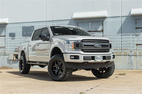 lifted   ford   radx stage  silver custom